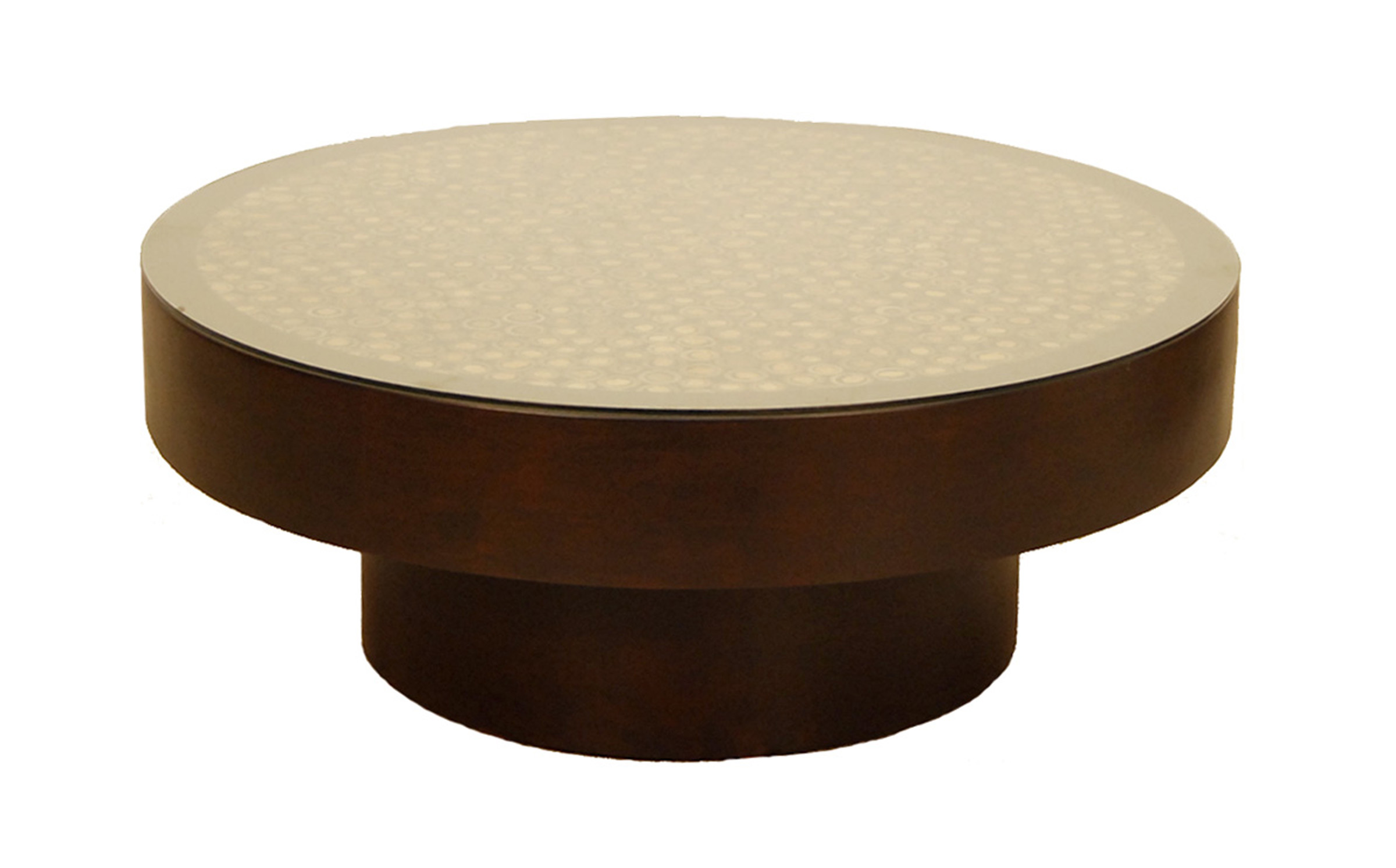 Fascinating round wood coffee table for home coffee bar What to put on a round coffee table