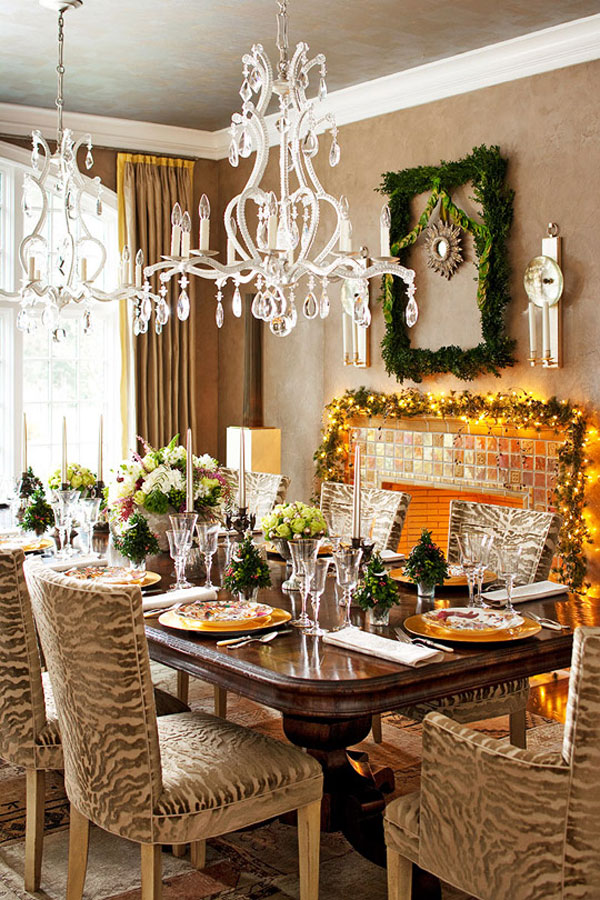 Magnetic Chandeliers also Neat Dining Room Table Decor With Flowers