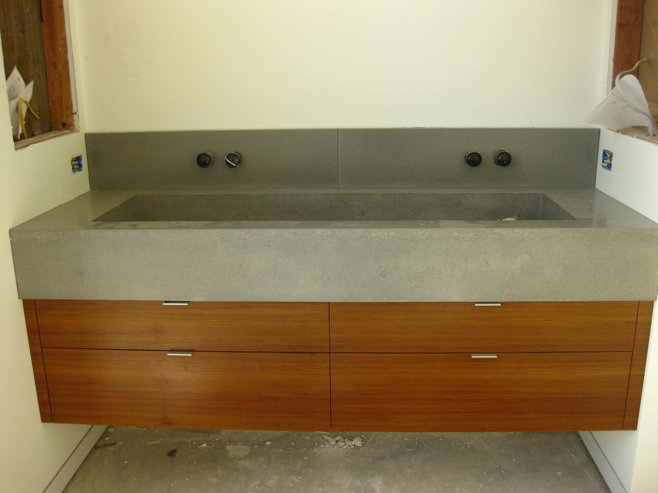 A Guide To Build Your Own Floating Bathroom Vanity Artmakehome