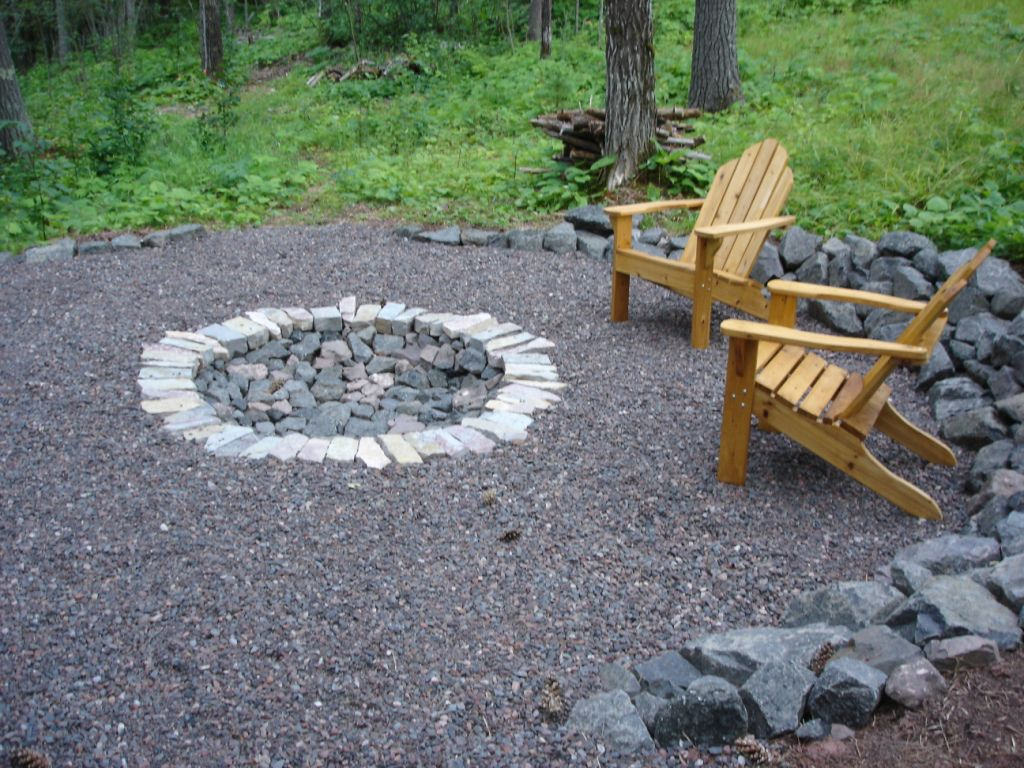 How to Create Fire Pit on Yard Simple Backyard Fire Pit ...