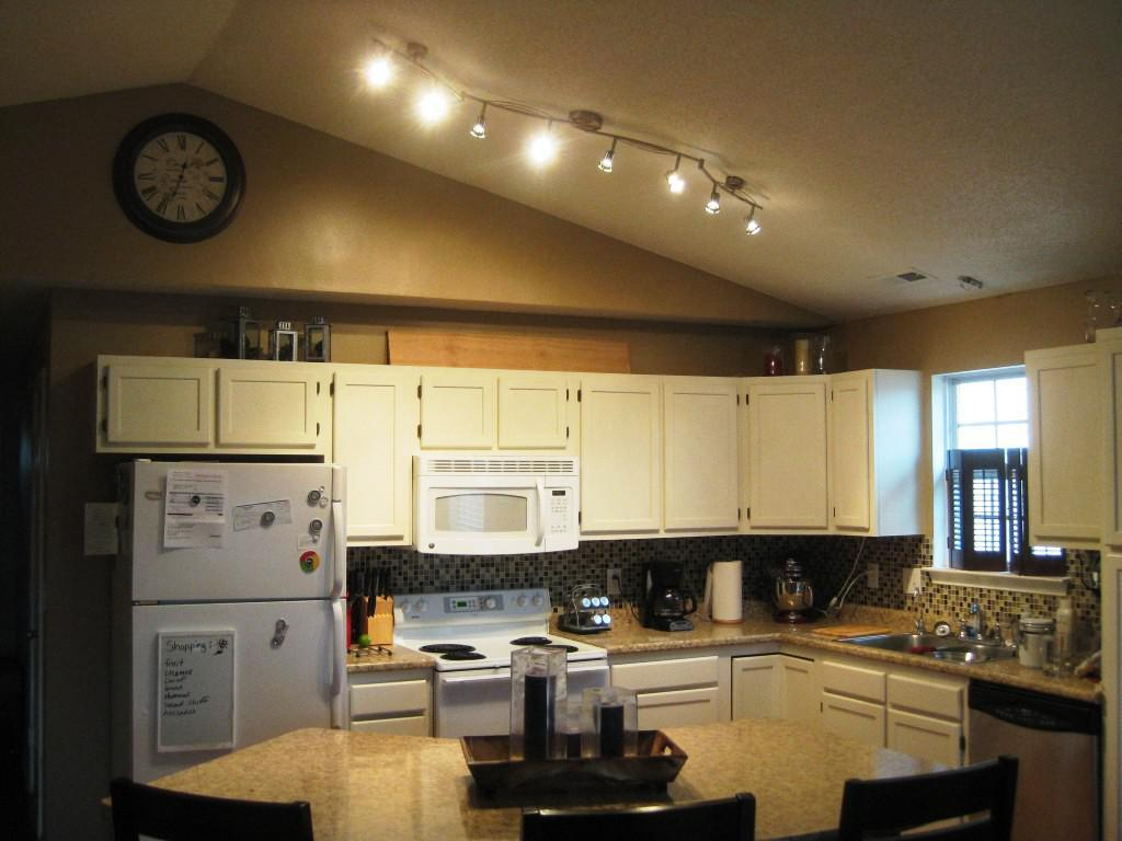 Ceiling Track Lights For Kitchen : Wonderful kitchen track lighting ideas midcityeast