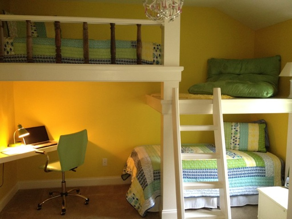 Why You Need to Choose Kids Loft Bed with Desk? - MidCityEast