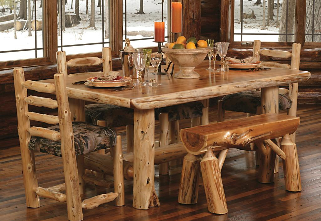 Marvelous Wooden Dining Room Table Decor Using Candle also Fruit Storage