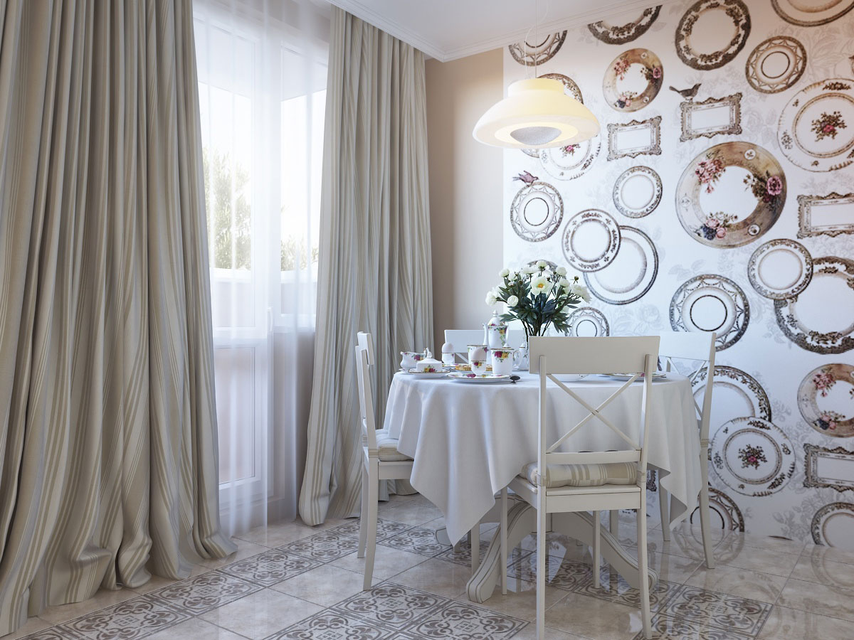 Nervous Interior Room With Winning Wall Decor also DiningRoom Table Decor