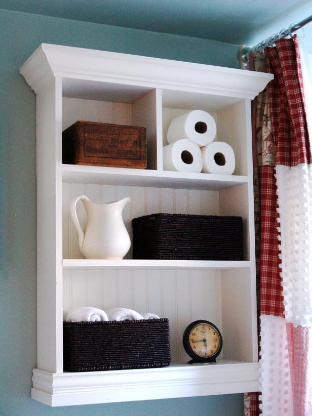 Opulent Style Of Simple Bathroom Storage For Saving Toiletries and Watch