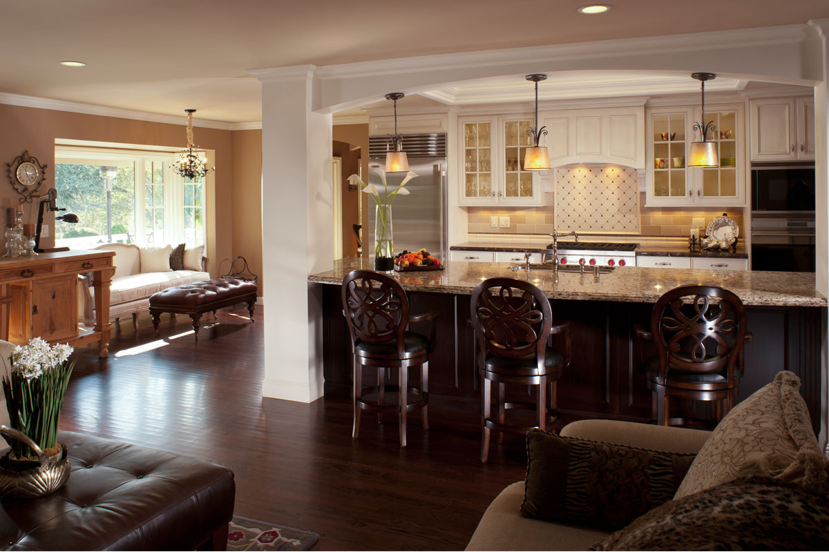 family room and kitchen design open kitchen design why you need it and how to style it 8904