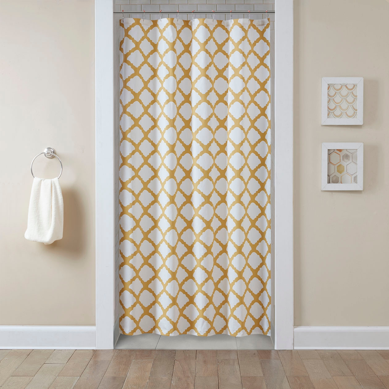 Shower Curtains For Beige Walls