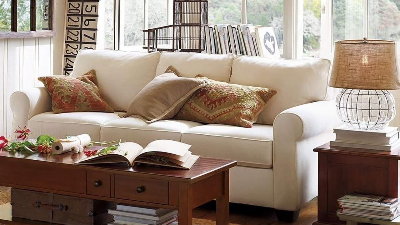 How to get the best deal on pottery barn living room for Best living room couches