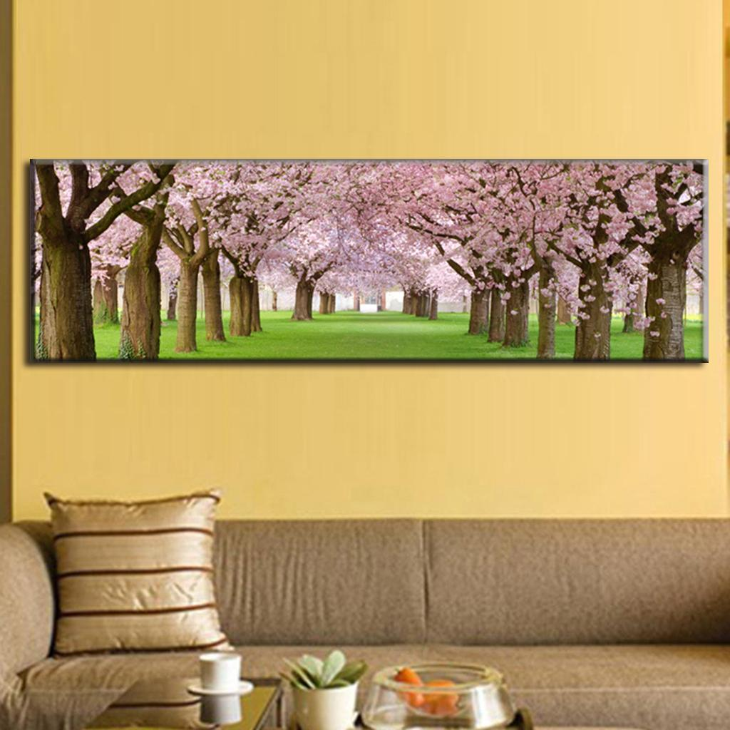 Adorable large canvas wall art as the wall decor of your for Art as decoration