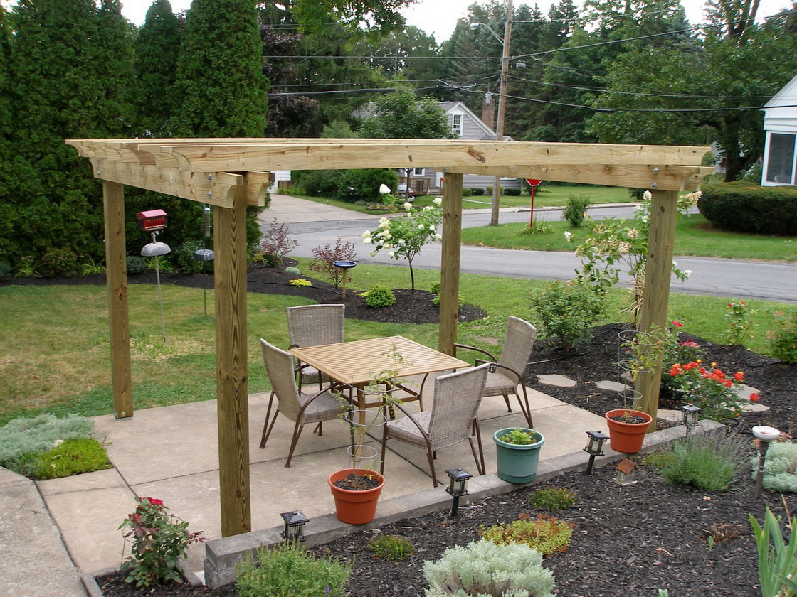 Build a better backyard easy diy outdoor projects for Garden and patio designs
