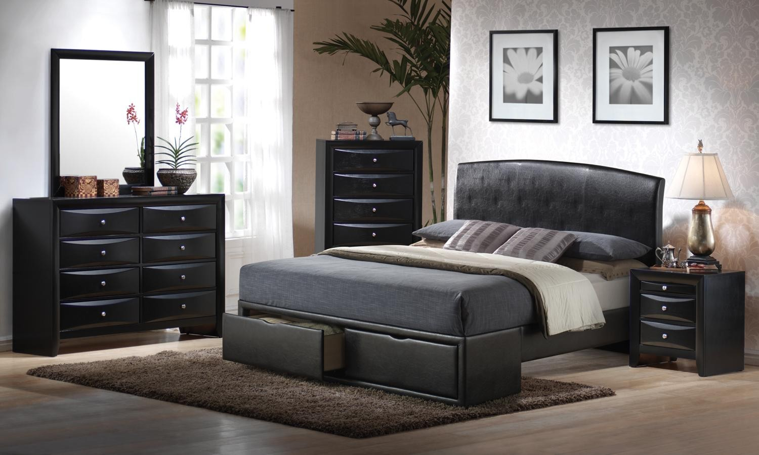 a lot of bedroom storage ideas for the better yet well organized limited space bedroom midcityeast. Black Bedroom Furniture Sets. Home Design Ideas
