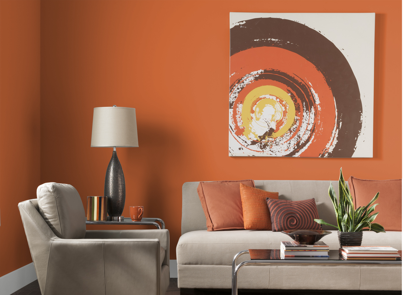 orange living room furniture. Adorable Design Of The Orange Living Room With Wall Added Grey Sofa Ideas And Furniture W
