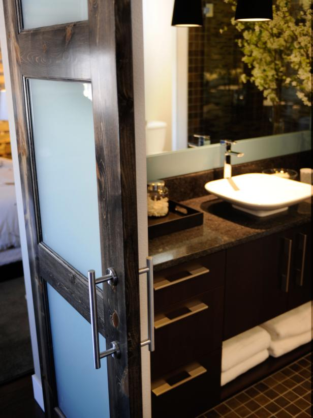 Angelic Cabinet With Sink and Faucet Plus Sliding Door For Bathroom Decor