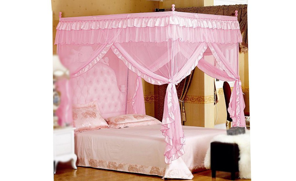Astonishing Design Of The Princess Canopy Bed With Pink Silk Curtain Added With Pink Bed And  sc 1 st  MidCityEast & DIY Princess Bed Canopy for Kids Bedroom - MidCityEast
