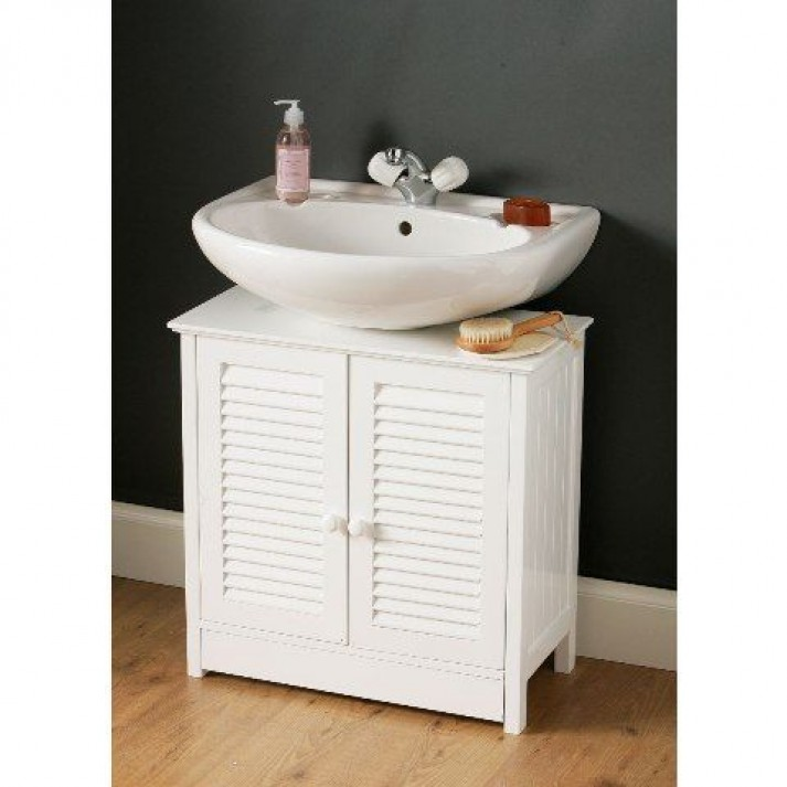 Astounding Design Of The Pedestal Sink Cabinet With White Wooden Cabinets Added With White Sink Ideas