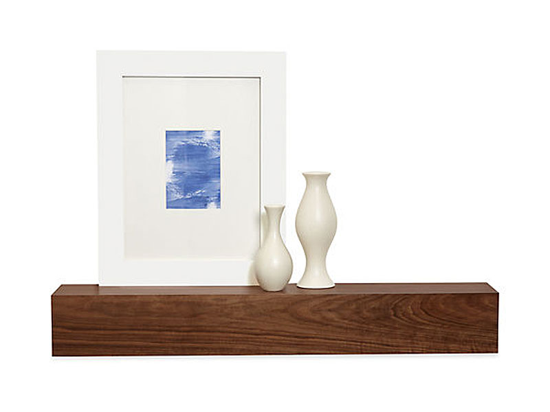 Attractive Style of Small Wall Shelf Of Wooden Material For Accessories