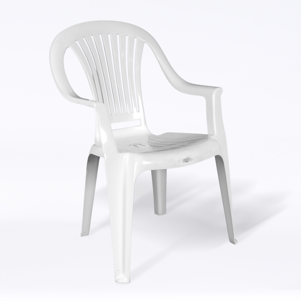 Awesome Back and Seat also Handle Arm  For Good Plastic Chairs