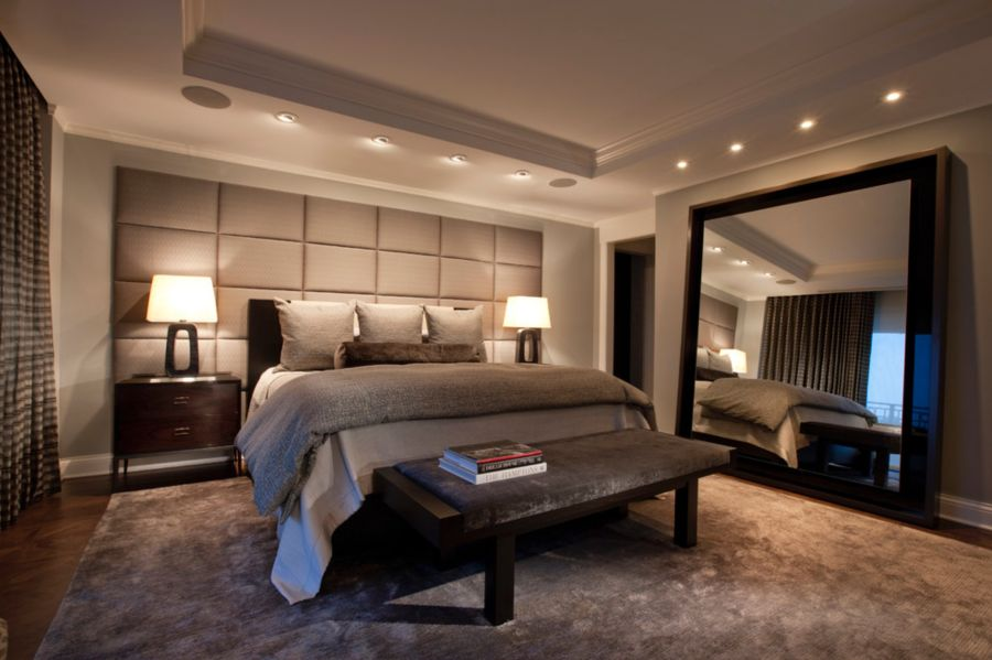 Awesome Design Of The Bedroom Areas With Grey Rugs Added With Two Side Table Lamp Ideas Added With White Wall Ideas