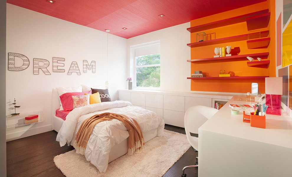 Teenage Girl Bedroom Design Ideas - MidCityEast