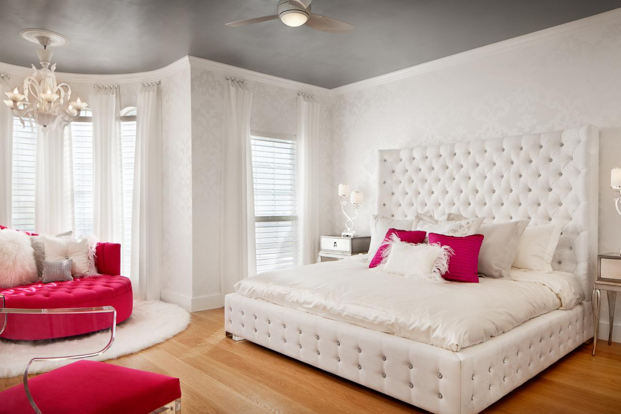 Awful Bed Also Pink Sofa Under Chandelier For Teen Girl Bedroom