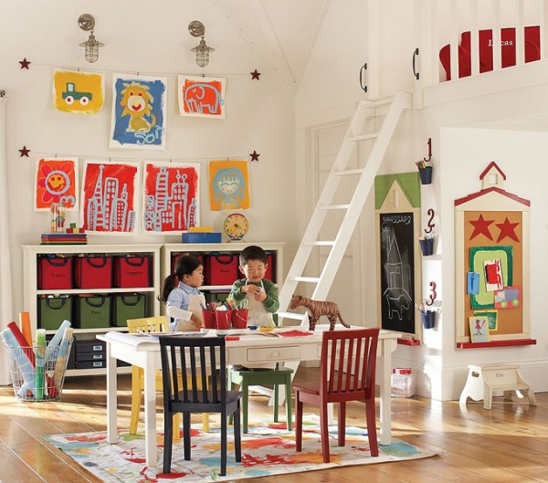 Beauteous Bunk Bed also Study Table Set For Play Area For Kids