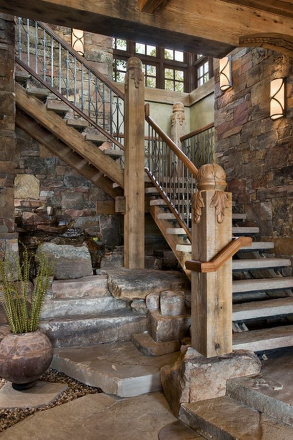 Ordinaire Beckoning Wall Water Fountains Under Staircase Plus Rustic Wall Decoration  Ideas