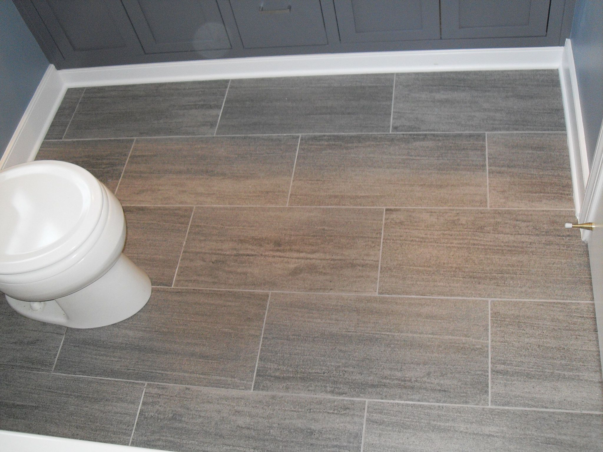 Best Wooden Panel Flooring also Grey Cabinet For Decorating Bathroom