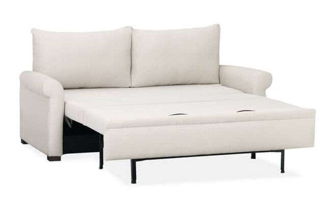 Captivating Full Size Sofa Bed With Hidden Seat also Lush Back