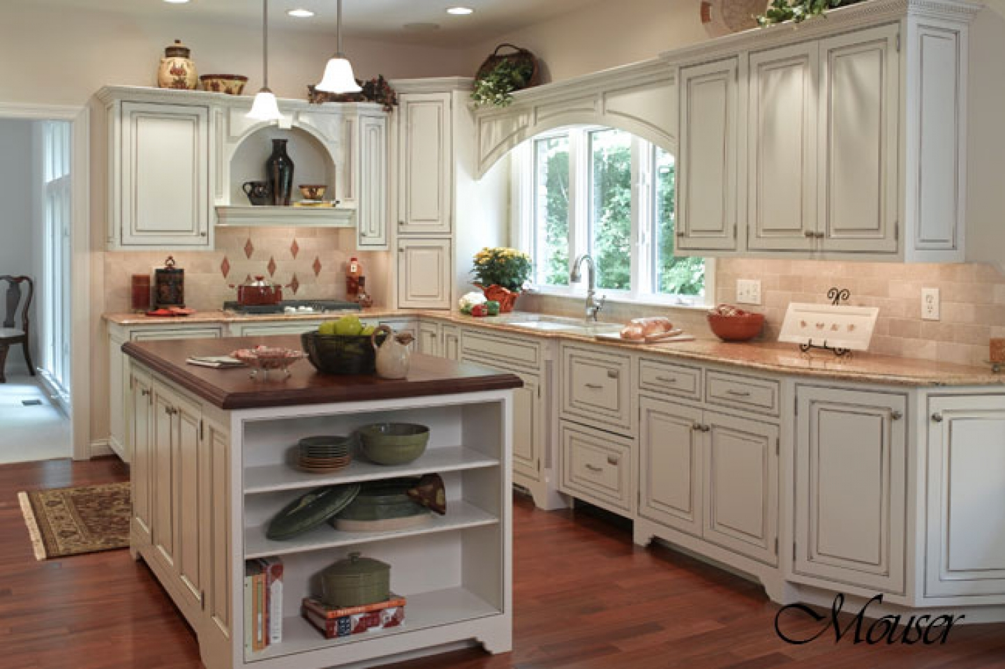 Country style kitchen what is it midcityeast - Country style kitchen cabinets ...