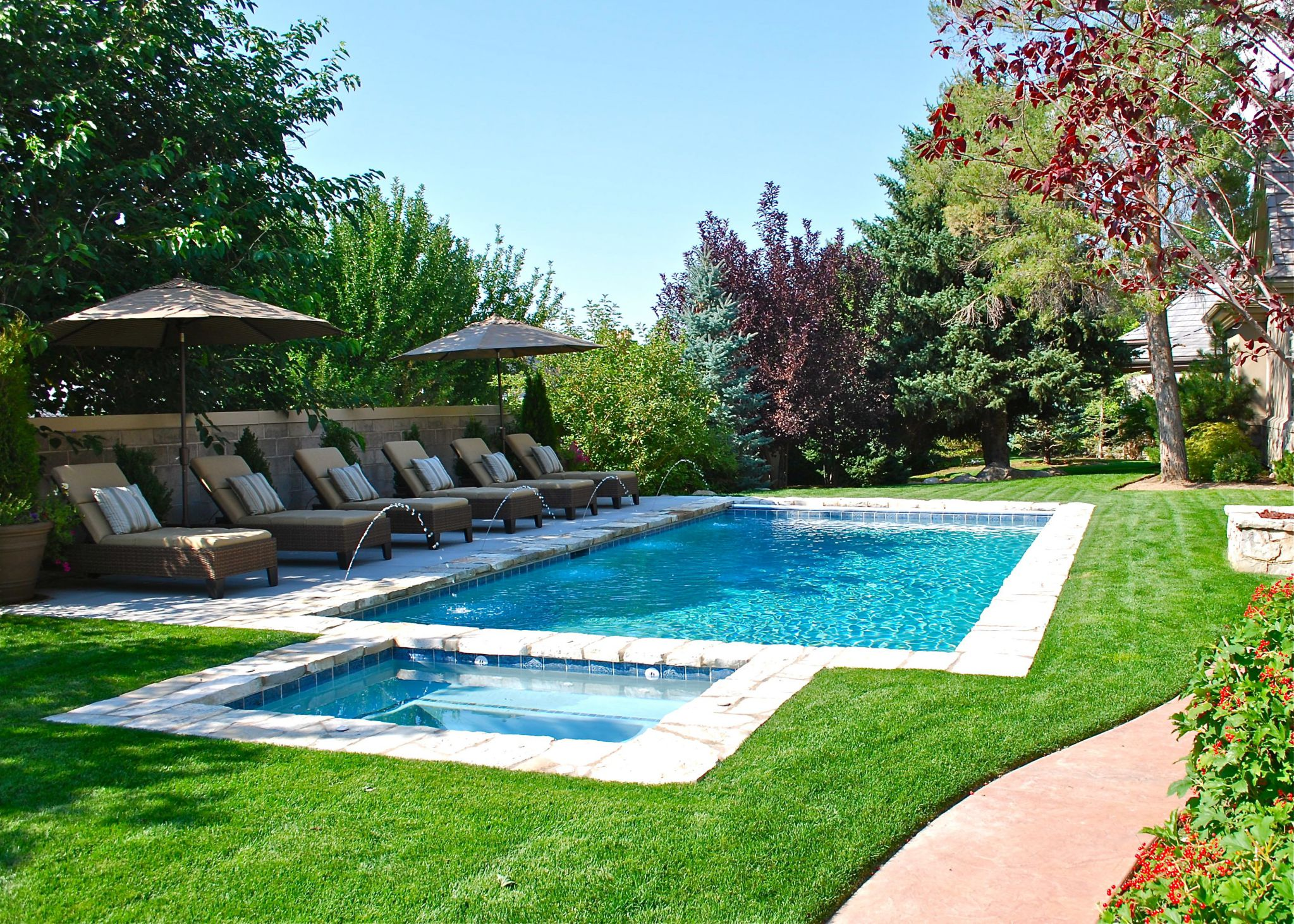 Make Your House More Entertaining With House Pool Ideas Midcityeast