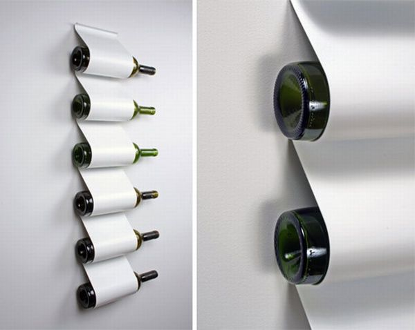 Chic Wine Storage Cabinet Design Ideas Attached On Wall For Neat Decor