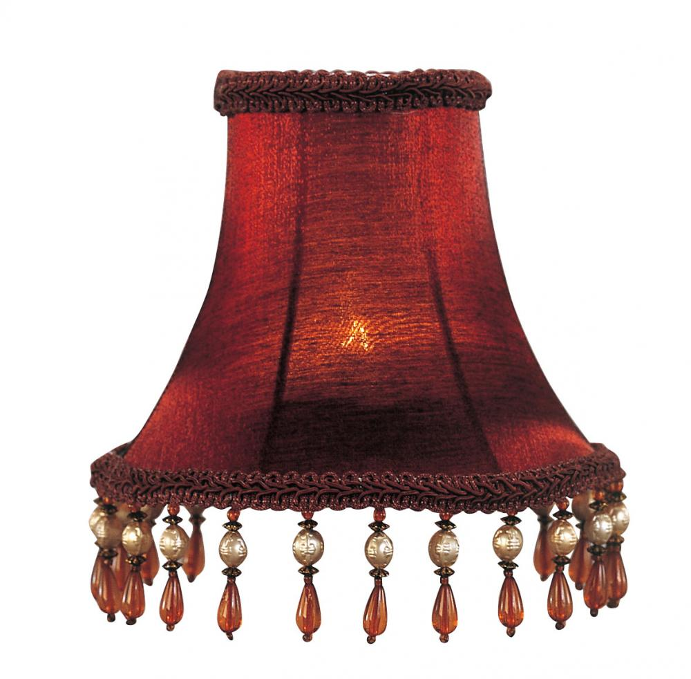 Classic Design Of The Red Pendant Lamp With Yellow Light Ideas For The Bed Side Table Areas