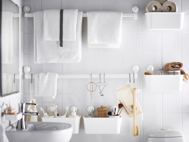Genial Clever Interior Design With White Bathroom Ceiling Paint Also Towel Hook