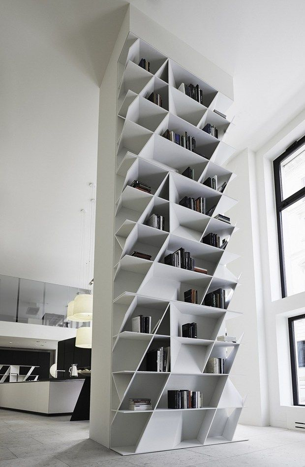 Dainty Room Divider Using Captivating Wall Mounted Bookcase near Window