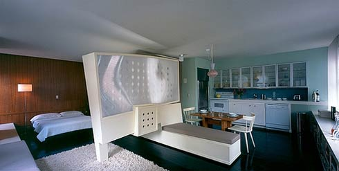 Delicate Apartments Using Bed also Dining Table Set Plus Cabinet