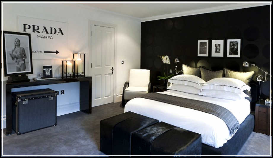 Young men s bedroom ideas midcityeast for Black bed bedroom ideas
