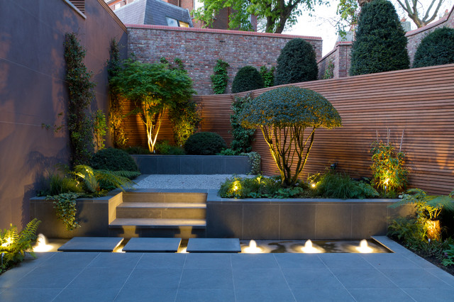 Elegant Lighting Fixture also Wooden Fence For Small Yard Ideas
