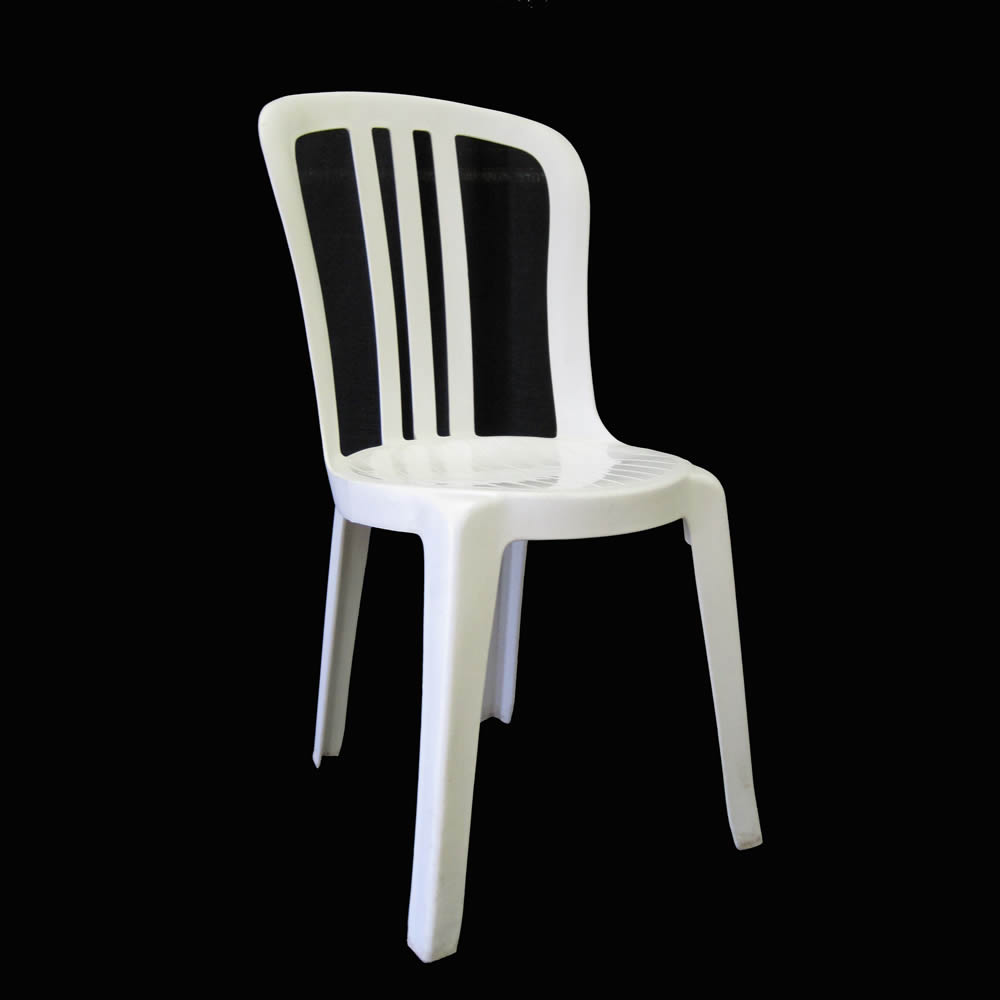 Elegant Plastic Chair Design Ideas Using Luring Back and Seat also Legs