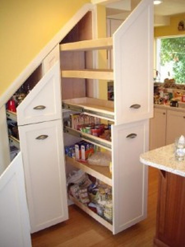 Under stair storage ideas for extra storage space Kitchen under cabinet storage ideas