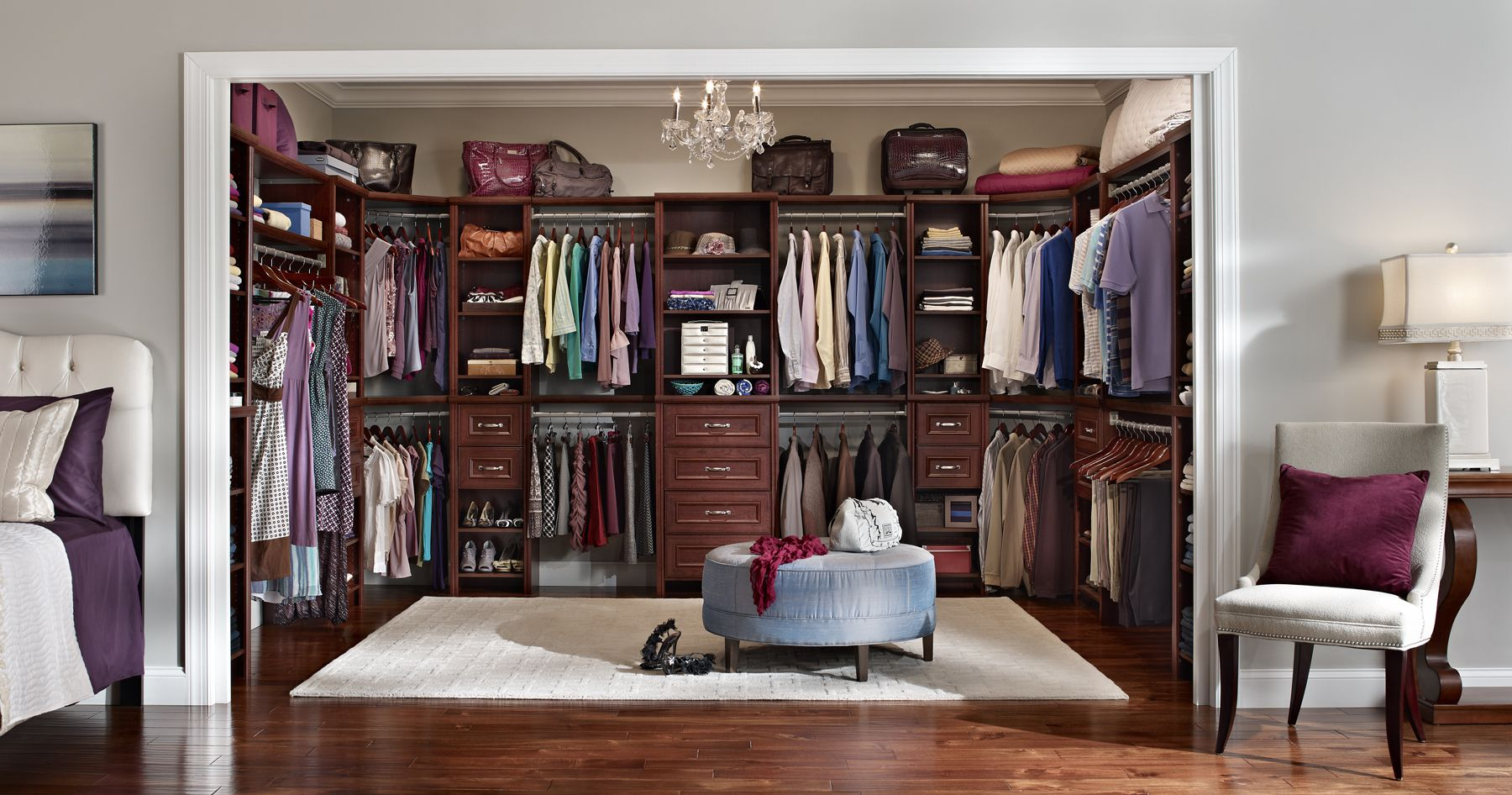 closet organizer ideas. Plain Closet Large Closet Organizers Ideas With Wooden Storages Also Hanging Clothes Throughout Organizer