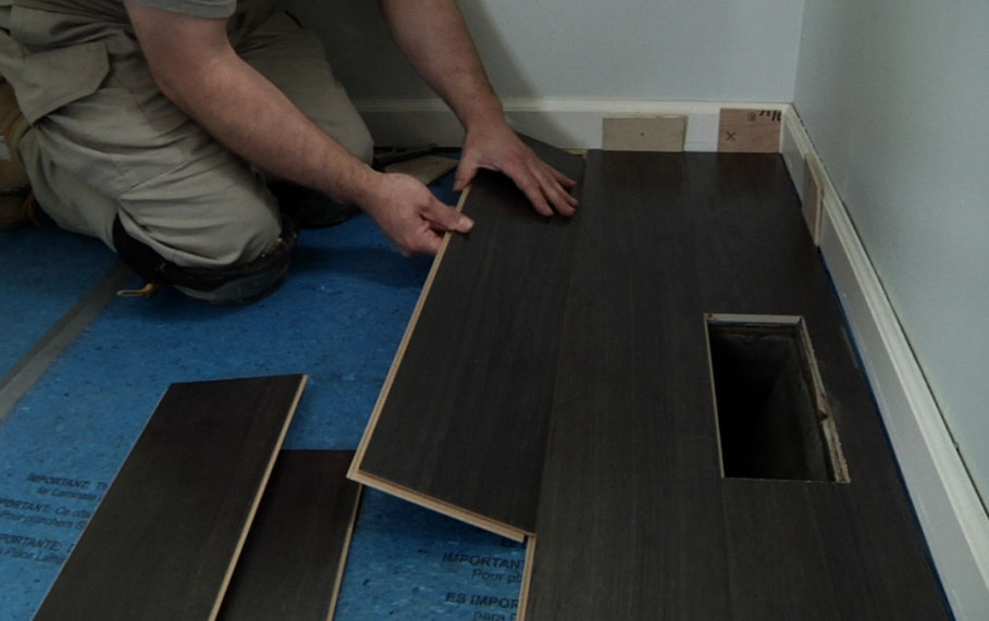 Lavish Step For Installing Hardwood Floor By Hand With Glue