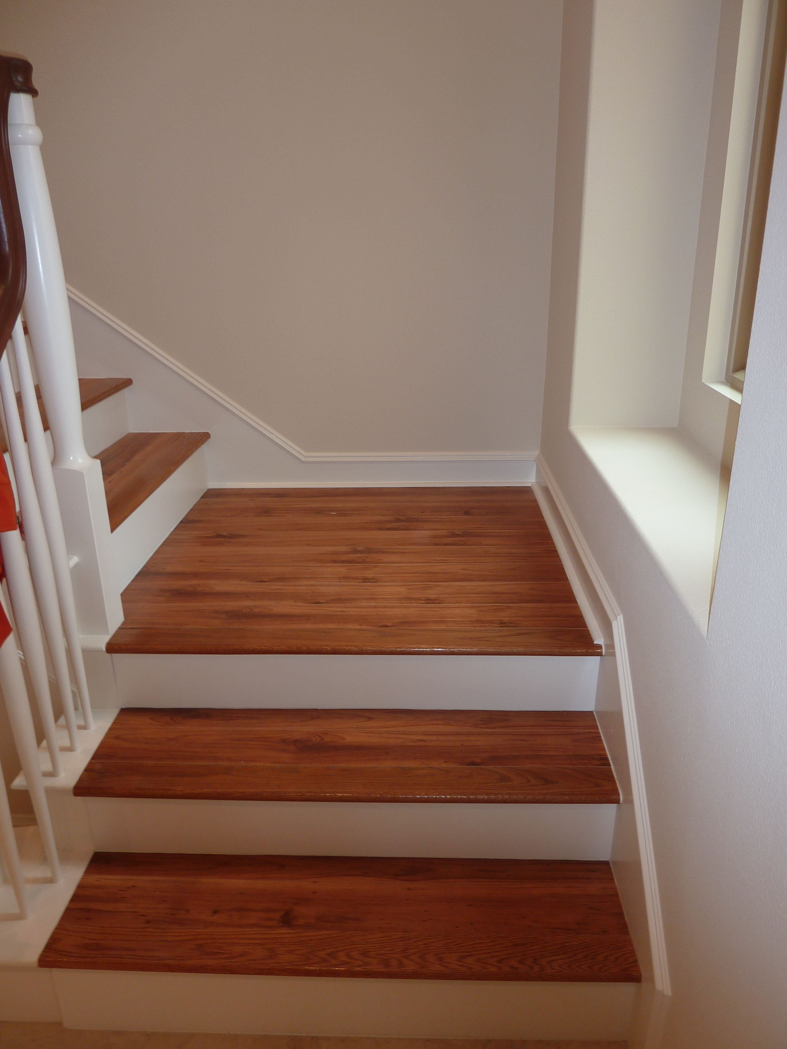 Luxurious Interior House Decor With Hardwood Flooring On The Staircase