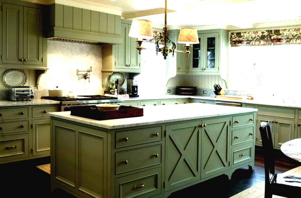 Green Kitchen Cabinet Ideas