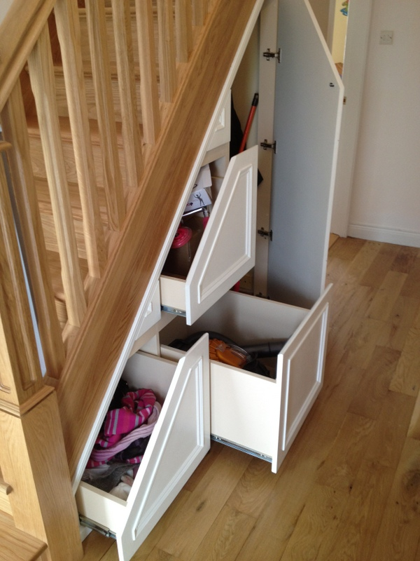 Under Stair Storage Ideas For Extra Space