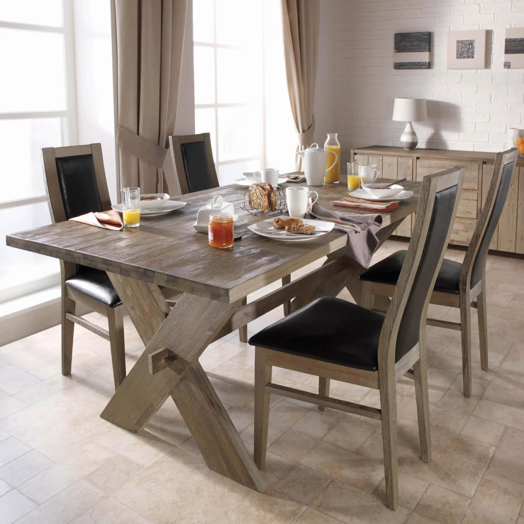 Modern Rustic Dining Room Chairs modern rustic décor for classy and warm nuance at your home