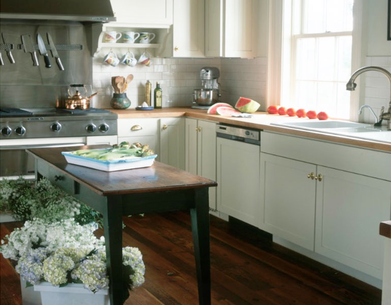 Have Tight Budget? Go with Narrow Kitchen Island - MidCityEast