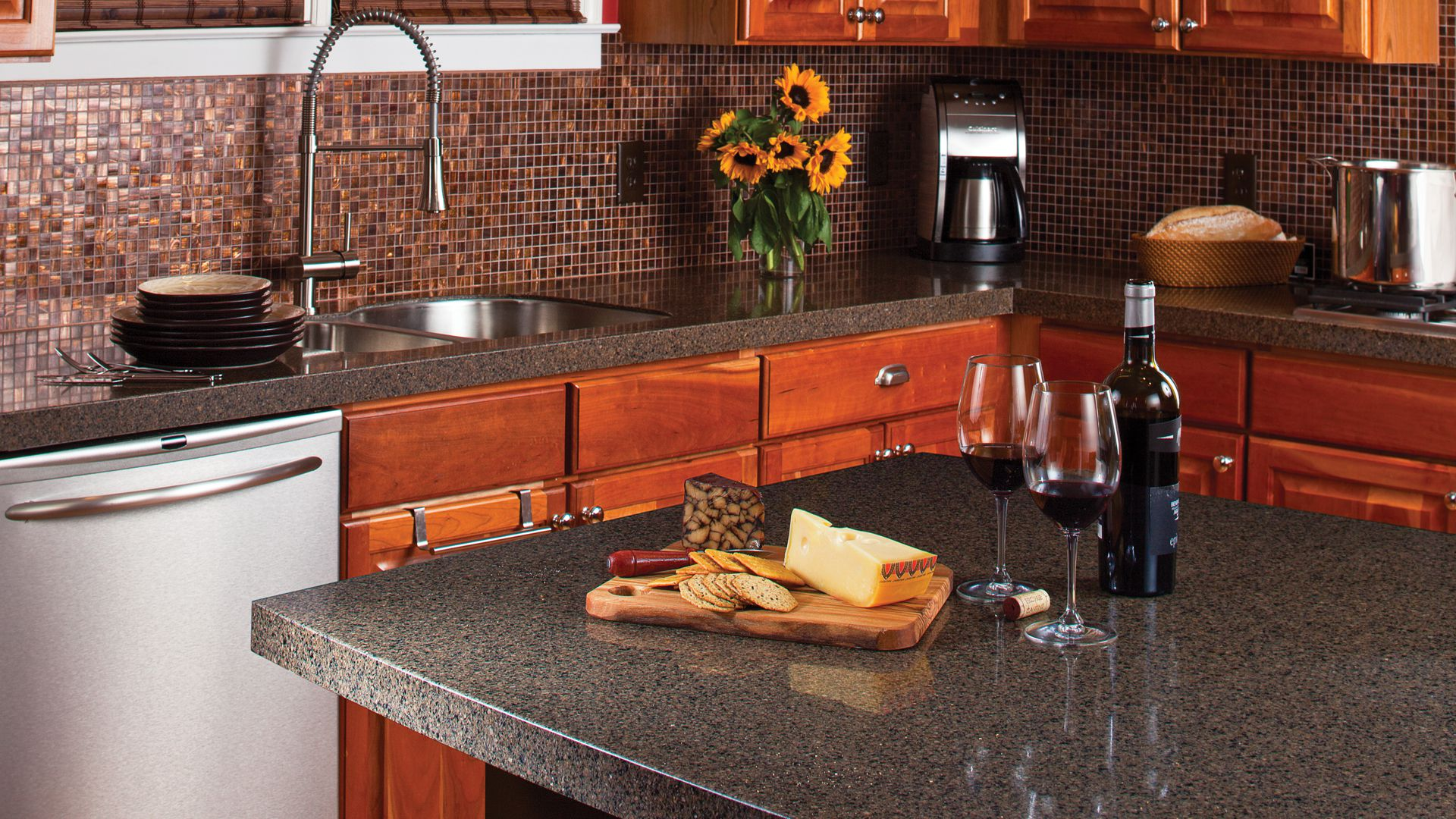 7 popular kitchen countertop materials - midcityeast