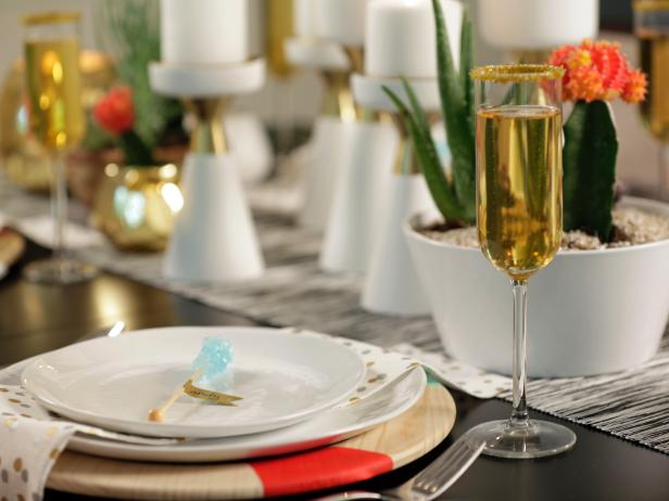 Opulent Table Place With Plate Beside Wine Glass and Fork