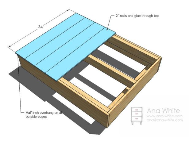 Pleasant Ideas To Make Table Dimensions With Nails and Glue The Top