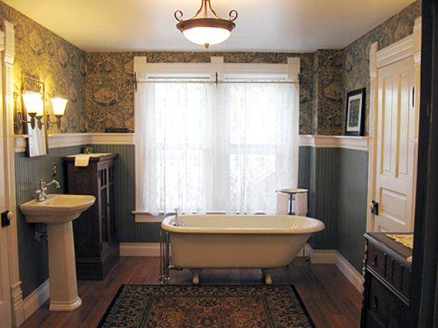 Radiant Wall  Decor also Wooden Panel Flooring Plus Bathtub Near Window